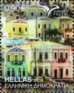 [EUROMED Issue - Houses in the Mediterranean, type CQL]