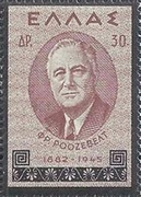 [In Memorial of President Roosevelt, type GD]