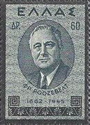 [In Memorial of President Roosevelt, type GD1]
