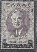 [In Memorial of President Roosevelt, type GD2]