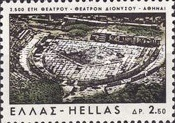 [The 2500th Anniversary of the Greek Theatre, type RK]