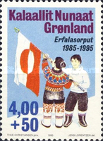 [The 10th Anniversary of the Greenland Flag