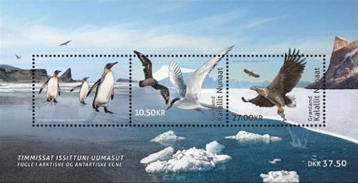 [Birdlife in the Arctic and Antarctic - Joint Issue with French South and Antarctic Territories, Typ ]