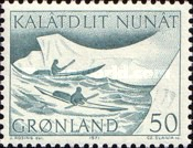 [The Conveyance of Mail in Greenland, type AN]