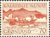 [Conveyance of Mail in Greenland, type AQ]