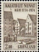 [The 200th Anniversary of the Royal Greenland Trade Company, type AW]