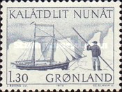 [Conveyance of Mail in Greenland, type AY]