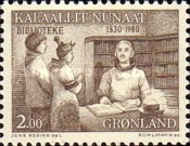 [The 150th Anniversary of the Greenland Library, type BT]