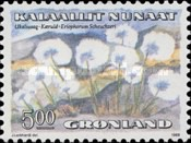 [Flowers - Cotton-grass and Mountain Poppy, Typ EE]