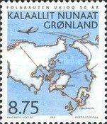[The 50th Anniversary of Scheduled Flights Denmark-Greenland, Typ MA]