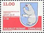[The 25th Anniversary of Greenland Home Rule, Typ MB]
