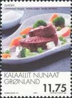 [EUROPA Stamps - Gastronomy, Typ MV]