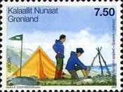 [EUROPA Stamps - The 100th Anniversary of Scouting, Typ OK]