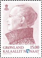 [Definitive - Queen Margrethe II, Typ SW7]
