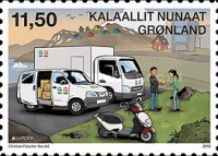 [EUROPA Stamps - Postal Vehicles, type TD]