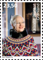 [The 75th Anniversary of the Birth of Queen Margrethe II, Typ VB]