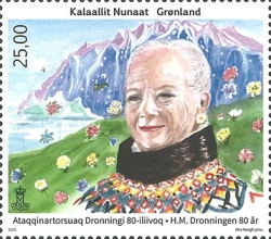 [The 80th Anniversary of the Birth of Queen Margrethe II, Typ ZU]