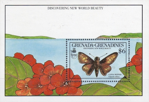 [The 500th Anniversary of Discovery of America by Columbus - New World Natural History - Insects, type ]