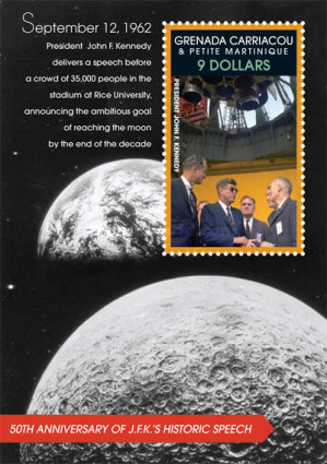 [Space Exploration - The 50th Anniversary of J.F.K's Historic Speech, type ]