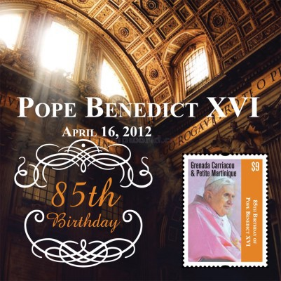 [The 85th Anniversary of the Birth of Pope Benedict XVI, type ]