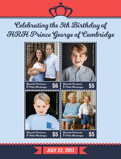 [The 5th Anniversary of the Birth of Prince George of Cambridge, type ]