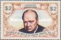 [The 100th Anniversary of the Birth of Sir Winston Churchill, 1874-1965 - Issues of 1974 of Grenada, but inscribed