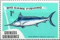 [Big Game Fishing - Issues of 1975 of Grenada, but inscribed