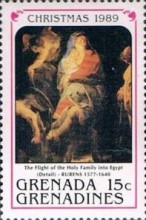 [Christmas - Paintings by Rubens, type AWG]