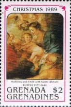 [Christmas - Paintings by Rubens, type AWJ]