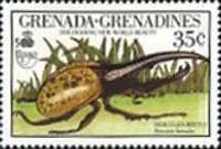 [The 500th Anniversary of Discovery of America by Columbus - New World Natural History - Insects, type AXA]