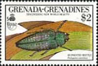 [The 500th Anniversary of Discovery of America by Columbus - New World Natural History - Insects, type AXF]