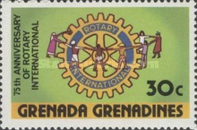 [The 75th Anniversary of Rotary International, type NP]