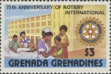 [The 75th Anniversary of Rotary International, type NR]