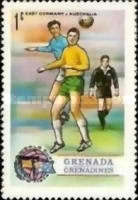 [Football World Cup - West Germany - Issues of 1974 of Grenada, but inscribed