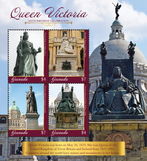 [The 200th Anniversary of the Birth of Queen Victoria, 1819-1901, Typ ]