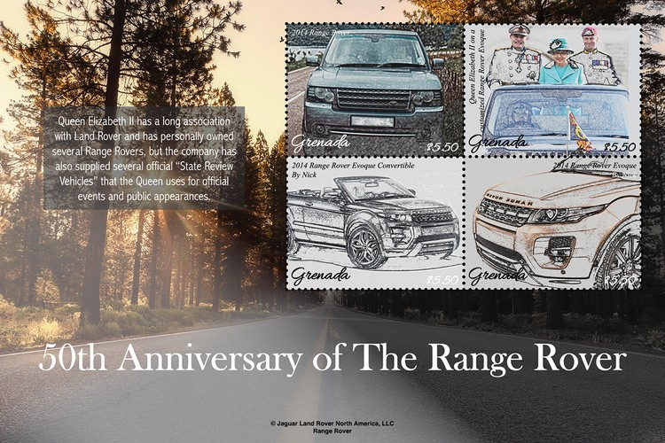 [the 50th Anniversary of the Range Rover, type ]