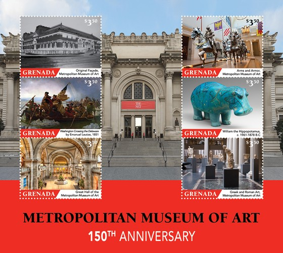 [The 150th Anniversary of the Metropolitan Museum of Art, type ]