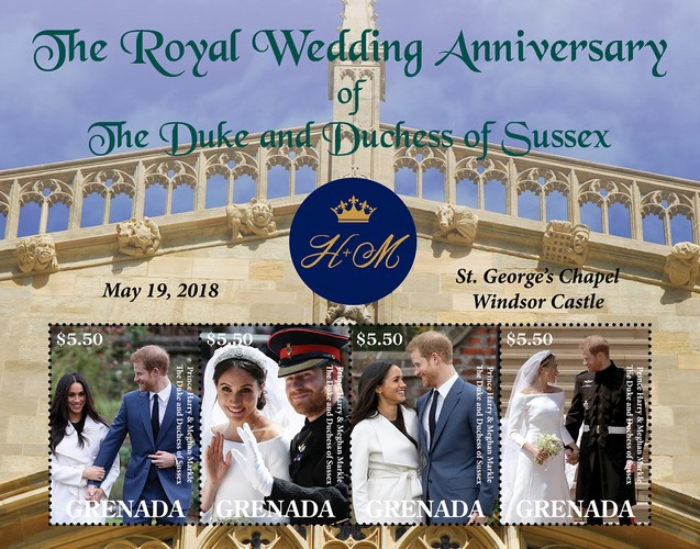 [The 3rd Wedding Anniversary of Prince Harry and Meghan Markle, type ]