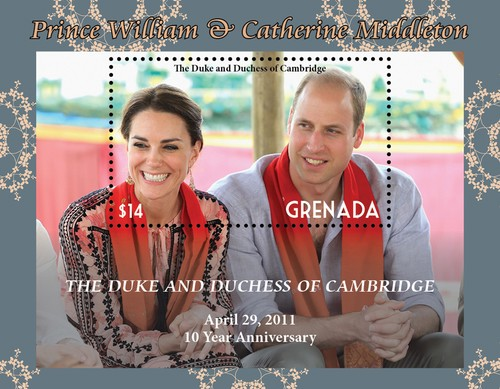 [The 10th Anniversary of the Royal Wedding of Prince William and Kate Middleton, type ]