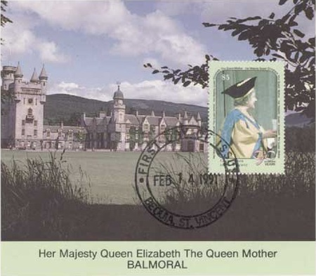 [The 90th Anniversary of the Birth of Queen Elizabeth the Queen Mother, Typ ]