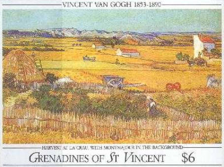 [The 100th Anniversary of the Death of Vincent van Gogh, 1853-1890, Typ ]