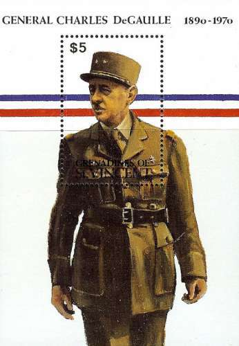 [The 100th Anniversary of the Birth of Charles de Gaulle, 1890-1970, Typ ]
