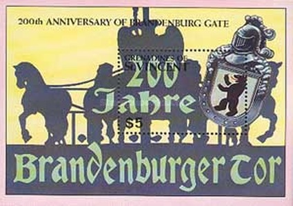 [The 200th Anniversary of the Brandenburg Gate, Typ ]