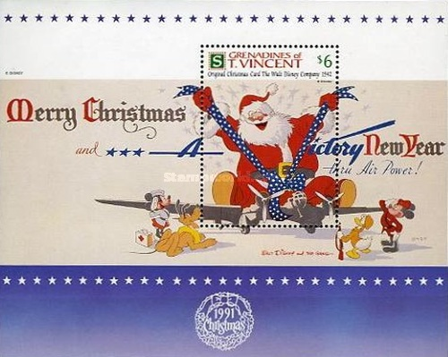 [Christmas - Walt Disney Company Christmas Cards, Typ ]