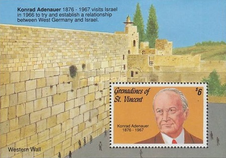 [The 25th Anniversary of the Death of Konrad Adenauer, 1876-1967, Typ ]