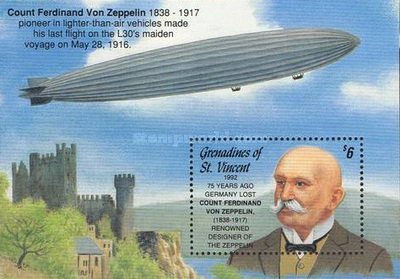 [The 75th Anniversary of the Death of Count Ferdinand Zeppelin, Typ ]