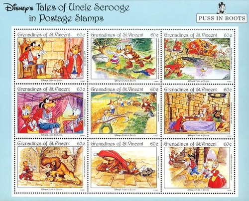 [Tales of Uncle Scrooge - Walt Disney Cartoon Character