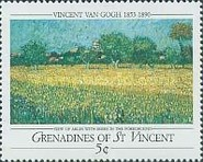 [The 100th Anniversary of the Death of Vincent van Gogh, 1853-1890, Typ AAN]