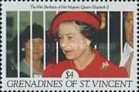 [The 65th Anniversary of the Birth of Queen Elizabeth II, Typ ABG]