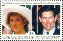 [The 10th Wedding Anniversary of Prince and Princess of Wales, Typ ABL]